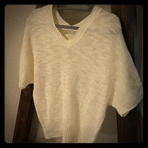 GAP oversized woven short sleeve top